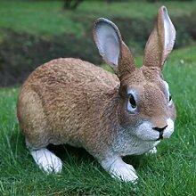 Dekofigur Hase Kaninchen Tierfigur Gartenfigur