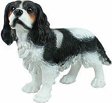Dekofigur Hund Cavalier King Charles Gartendeko