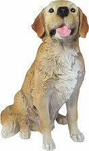 "Dekofigur Hund Hündin Golden Retriever ""Amy"""