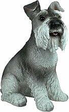 "Dekofigur Hund Hündin Zwergschnautzer ""Pia"""