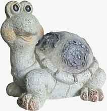 Dekofigur Schildkröte Amelie Gartenfigur Dekoration Tier Skulptur Wohnung Garten