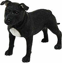Dekofigur Staffordshire Bull-Terrier-Hund,