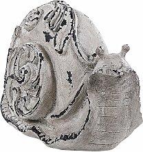 Dekofigur Steinoptik Grau Polyresin Tierfigur