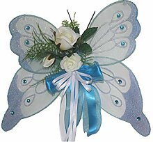 dekofine Wanddeko Blumengesteck - Schmetterling