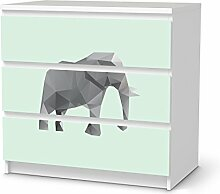 Dekofolie für IKEA Malm 3 Schubladen |