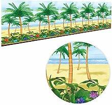 Dekofolie zur Zimmerdekoration, Hawaii, Palme,