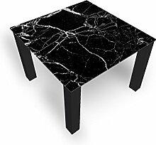 DekoGlas Couchtisch 'Glas Schwarz'