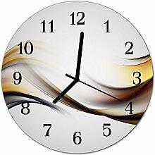 DekoGlas Glasuhr 'Abstrakt Mehrfarbig' Uhr