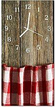DekoGlas Glasuhr 'TischMehrfarbig' Uhr aus