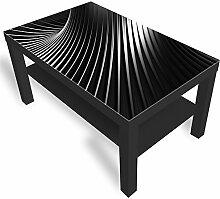 DekoGlas IKEA Lack Beistelltisch Couchtisch