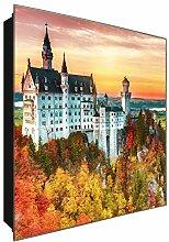 DekoGlas Schlüsselkasten 'Schloss' 30x30