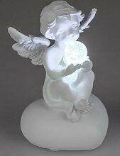 Dekojohnson Engel mit einer LED beleuchteten