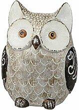 dekojohnson Eule Owl Eulen-Figur Deko-Kautz
