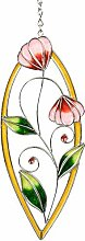dekojohnson Moderne Fensterdeko Blume