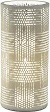 dekojohnson Porzellan-Lampe Zylinder Harmonie