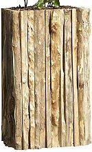 dekojohnson rustikaler Blumenkübel aus Holz