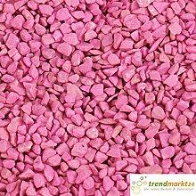 Dekokies pink 7,5 kg ✓ Zierkies Dekogranulat ca. Ø 2-3 mm Streudeko ✓ Granulat mittelgrober Körnung ✓ Steinchen zum Befüllen von Glasgefäßen Vasen, Windlichter ✓ Deko-Kies | trendmarkt24-99101105