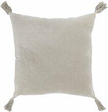 Dekokissen AlexandraHouse Farbe: Grau