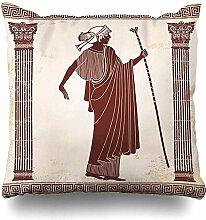 Dekokissen Athena Griechenland Altgriechisch