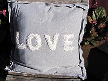 Dekokissen LOVE 40 x 40 cm