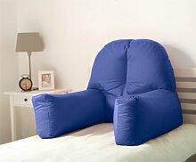 Dekokissen Mallette Ebern Designs Farbe: Blau