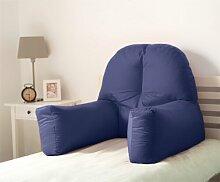 Dekokissen Mallette Ebern Designs Farbe: Navyblau