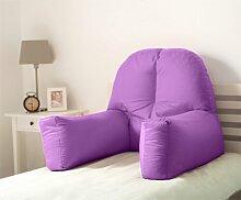 Dekokissen Mallette Ebern Designs Farbe: Violett