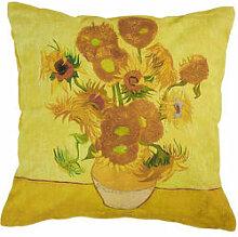 Dekokissen mit van Goghs Sonnenblumen
