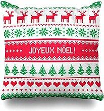 Dekokissenbezüge Norwegian Joyeux Noel
