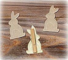 Dekoklammer 'Hase Bunny' 12er-Se