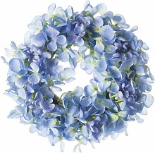 Dekokranz Flowers blue 26cm, 26 × 7 × 62 cm