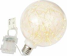 """Dekokugel """"Glühbirne"""" - 80 LED warm weiß Ø"""