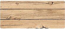 Dekolust Küchenläufer 120x50 cm Holz Fußmatte