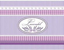 Dekolust Küchenläufer Lavendel 180x50 cm Fußmatte Küchenteppich