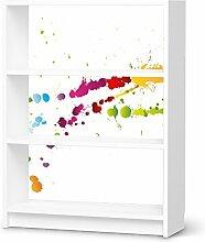 Dekor für IKEA Billy Regal 3 Fächer | Muster