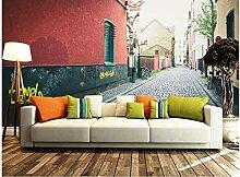 Dekoration 3D Wandbilder Tapete Wandbilder 3D