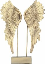Dekoration Angel Wings gold, 27 × 7 × 38 cm