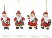 Dekoration aus Holz, Weihnachtsschmuck aus Holz zum Aufhängen, Dekorationen x Weihnachtsbaum