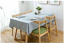 Dekoration Baumwolle Leinen Streifen Landhausstil