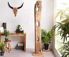 Dekoration Belka Balken XXL Teakholz Natur Unikat