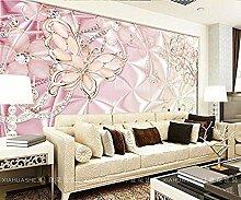 Dekoration Foto rosa Schwan Schmetterling Blume 3D