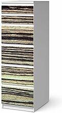 Dekoration für IKEA Malm 6 Schubladen (schmal) | Klebefolie Möbel-Aufkleber Folie Möbeltattoo | Zimmer gestalten Deko Artikel | Design Motiv Schnurstracks