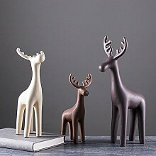Dekoration Home Decoration Creative Ceramic Deer Wohnzimmer Dekoration