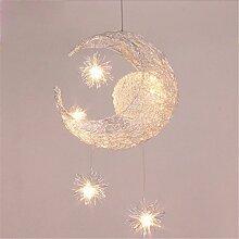 Dekoration-Kronleuchter Creative Moon and Stars