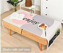 Dekoration Rechteck Baumwolle Leinen Tischdecke