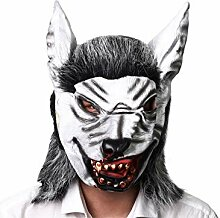 Dekoration Scary Wolf Maske Horror Tierkopf