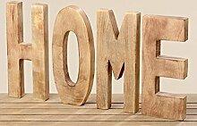 Dekoration Schritfzug Home Holz