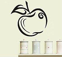 Dekoration Wandkunst Grüner Apple Wandaufkleber