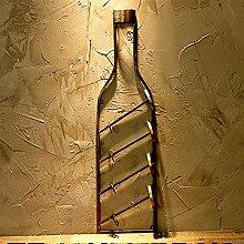 Dekoration Weinflaschenhalter Wand
