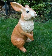Dekorationsfigur Hase Höhe 35 cm Gartenfigur aus